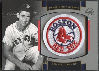 2003 Sweet Spot Classics #TW1 Ted Williams Patch