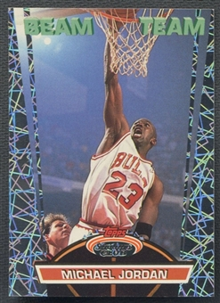 1992/93 Stadium Club #1 Michael Jordan Beam Team