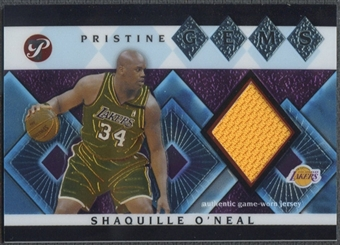 2003/04 Topps Pristine #SO Shaquille O'Neal Gems Relics Jersey