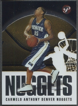 2003/04 Topps Pristine #107 Carmelo Anthony Rookie
