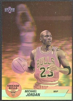 1992/93 Upper Deck #AW9 Michael Jordan Award Winner Holograms