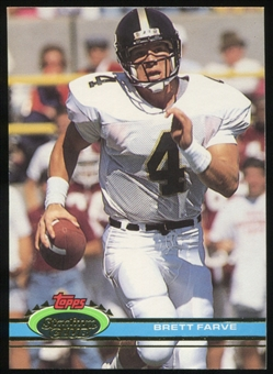 1991 Stadium Club #94 Brett Favre UER RC