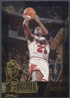1995/96 SP Jordan Collection #JC19 Michael Jordan
