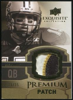 2010 Upper Deck Exquisite Collection Premium Patch #EPPDB Drew Brees 15/35