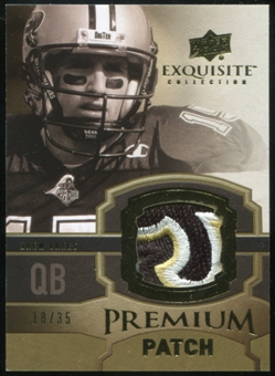 2010 Upper Deck Exquisite Collection Premium Patch #EPPDB Drew Brees 18/35
