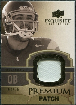 2010 Upper Deck Exquisite Collection Premium Patch #EPPMS Mark Sanchez /75