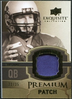 2010 Upper Deck Exquisite Collection Premium Patch #EPPTR Tony Romo /35