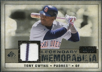 2008 Upper Deck SP Legendary Cuts Legendary Memorabilia Taupe Parallel #TG3 Tony Gwynn /10