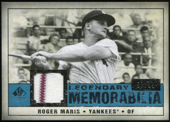 2008 Upper Deck SP Legendary Cuts Legendary Memorabilia Blue #RM Roger Maris 57/99