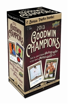 2013 Upper Deck Goodwin Champions 12-Pack Box (1 Wonders of the Universe Insert Per Box)!