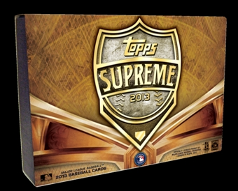 2013 Topps Supreme Baseball Asia Only Hobby Case #3 - DACW Live 28 Spot Random Break