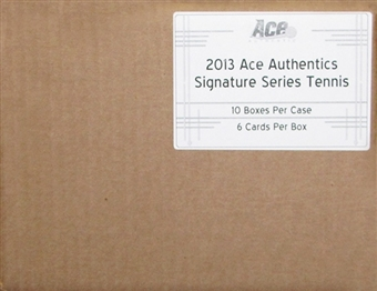 2013 Leaf Ace Authentic Signature Series Tennis Hobby 10-Box Case
