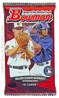 2013 Bowman Baseball Hobby Pack