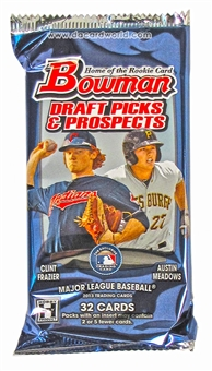 2013 Bowman Draft Picks & Prospects Baseball Jumbo Pack
