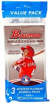 2013 Bowman Platinum Baseball Value Pack