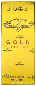 Benchwarmer Gold Edition Trading Card Box (2013)