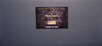 Benchwarmer Gold Edition Trading Card 8-Box Case (2013)