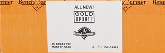 Benchwarmer Gold Edition Update Trading Card 4-Box Case (2014)