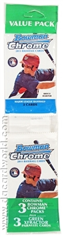 2011 Bowman Chrome Baseball Value Rack Pack