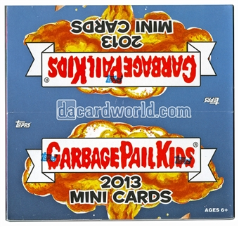 Garbage Pail Kids Mini Cards Hobby Box (Topps 2013)