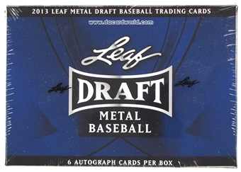 2013 Leaf Metal Draft Baseball Hobby Box