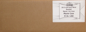 2013 Leaf Metal Draft Baseball Hobby 12-Box Case