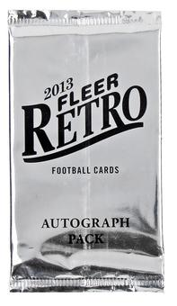 2013 Upper Deck Fleer Retro Football Bonus Pack