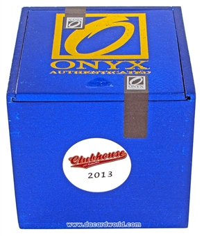 2013 Onyx Clubhouse Collection Baseball Hobby Box