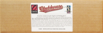2013 Onyx Clubhouse Collection Baseball Hobby 3-Box Case