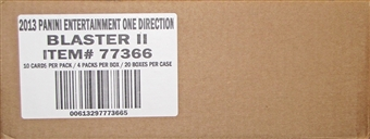 2013 Panini One Direction 4-Pack Value 20-Box Case