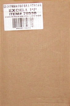 2013 Panini Absolute Football 20-Box Case (Three Memorabilia Cards Per Box!)