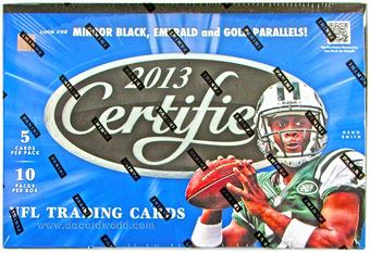 2013 Panini Certified Football Hobby 24-Box Case - DACW Live 32 Spot Random Team Break