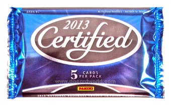2013 Panini Certified Football Hobby Pack