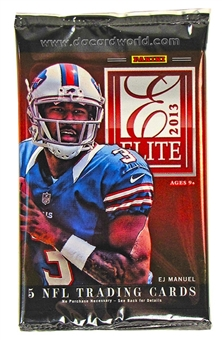 2013 Panini Elite Football Hobby Pack