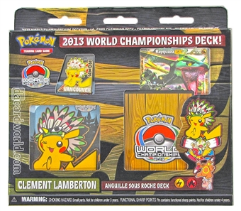 Pokemon 2013 World Championship Deck - Clement Lamberton