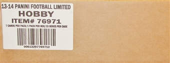 2013 Panini Limited Football Hobby 15-Box Case - DACW Live 30 Team Random Case Break
