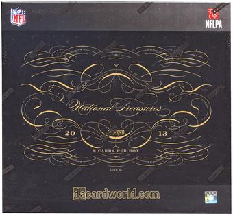 CYBER MONDAY- 2013 Panini National Treasures Football 4-Box Case - DACW Live 32 Spot Random Team Break