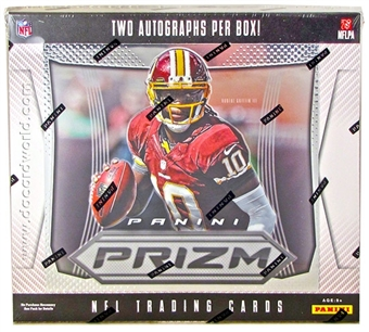 2012 Panini Prizm Football Hobby Box - WILSON & LUCK ROOKIES!