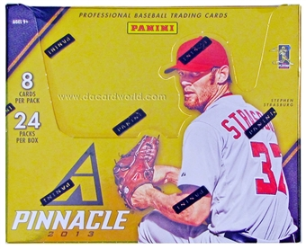 2013 Panini Pinnacle Baseball Hobby Box