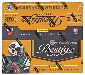 2013 Panini Prestige Football 24-Pack Box
