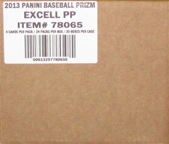 2013 Panini Prizm Baseball 20-Box Case