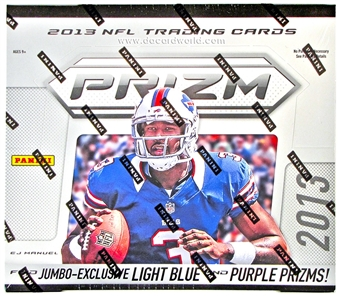2013 Panini Prizm Football Jumbo 8-Box Case- DACW Live 30 Spot Random Break