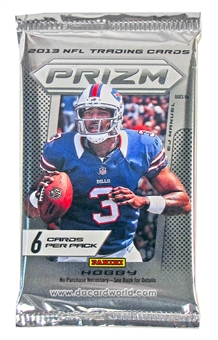 2013 Panini Prizm Football Hobby Pack