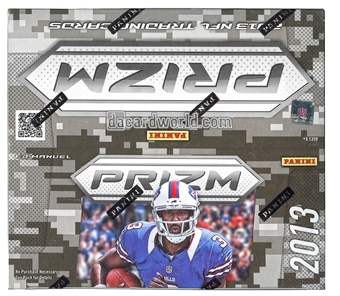 2013 Panini Prizm Football 24-Pack Box