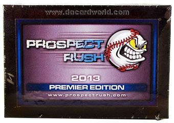 2013 Prospect Rush Premier Edition Baseball Hobby Box