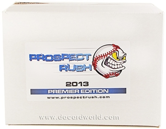 2013 Prospect Rush Premier Edition Baseball Hobby 5-Box Case