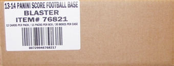 2013 Score Football 11-Pack 20-Box Case