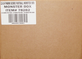 2013 Score Football Monster 20-Box Case