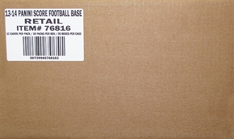 2013 Score Football 20-Box Case