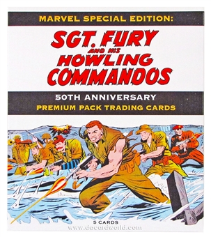 Sgt. Fury and The Howling Commandos 50th Anniversary Premium Pack Trading Cards Pack (Rittenhouse 2013)